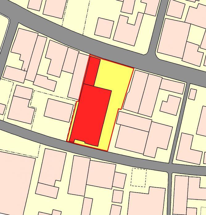アパート周辺図